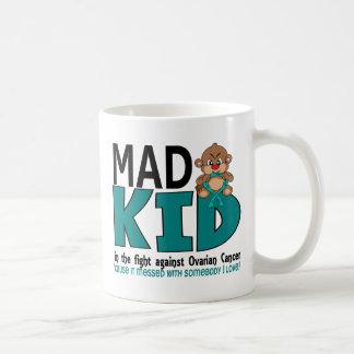 Mad Kid Ovarian Cancer Coffee Mug