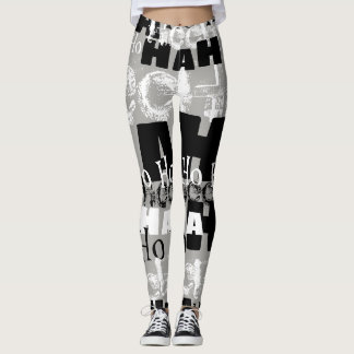 Mad Laughter Leggings