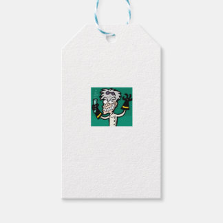 mad man of science gift tags