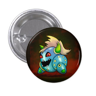 MAD MAX ROBOT FUNNY CARTOON Button