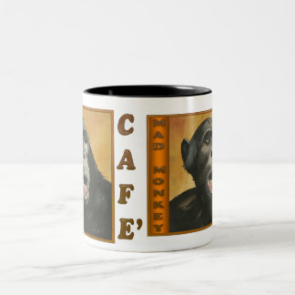 Mad Monkey Cafe Coffee Cup