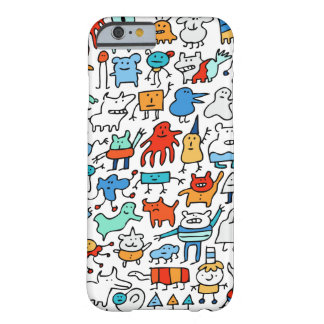 Mad Monster Friends iPhone 6 Case