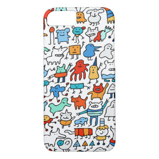 Mad Monster Friends iPhone 7 Case
