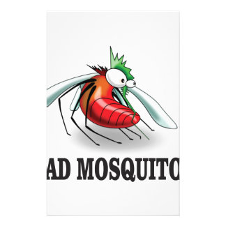 mad mosquito yeah stationery
