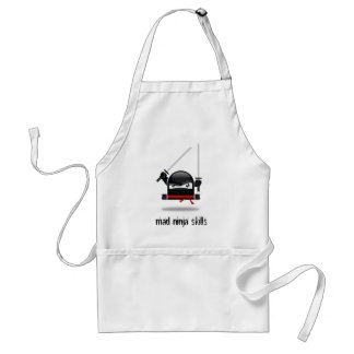 Mad Ninja Skills apron