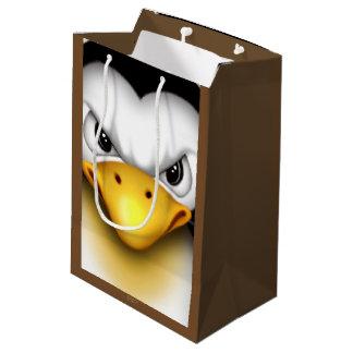 MAD PINGOUIN 2 CARTOON Gift Bag -  MEDIUM MATTE