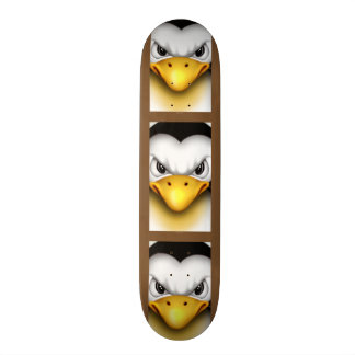 MAD PINGOUIN CARTOON Skateboard 7¾""