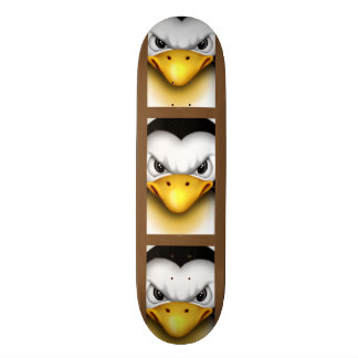 MAD PINGOUIN CARTOON Skateboard 8½""