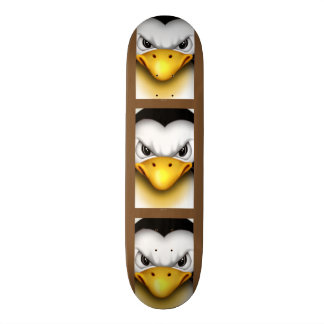 MAD PINGOUIN CARTOON Skateboard 8 1/8""