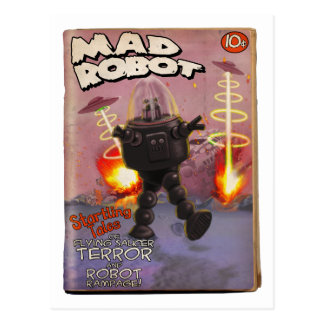 Mad Robot Pulp Cover Postcard