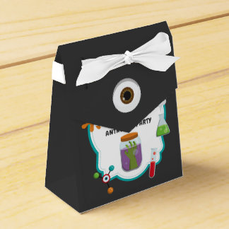 Mad Science Birthday Party Guest Favor Favour Box