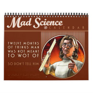 Mad Science Calendar