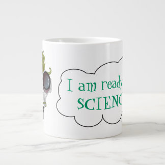 Mad science large coffee mug