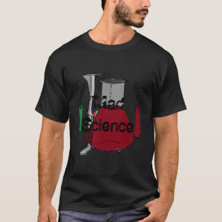 Mad Science STEM Chemistry Scientist Geeky Gifts T-Shirt