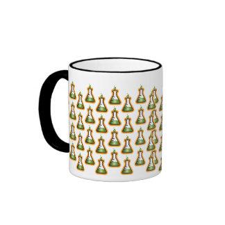 Mad Scientist Beakers Ringer Mug