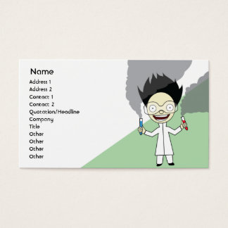 Mad Scientist - Business Business Card