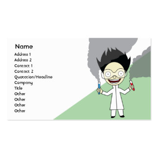 Mad Scientist - Business Pack Of Standard Business Cards