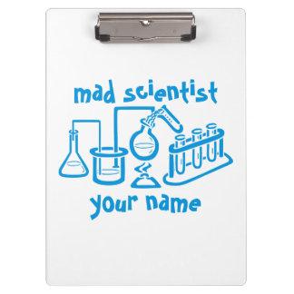 Mad Scientist Clipboard