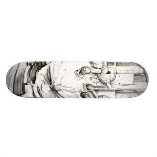 Mad Scientist Custom Skate Board