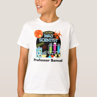 Mad Scientist Customized T-shirt