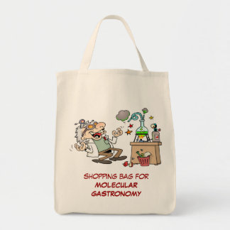 Mad Scientist Grocery Tote Bag