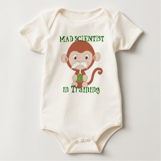 Mad Scientist in Training Baby Shirt
