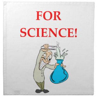 mad scientist napkin