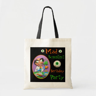 Mad Scientist Party Budget Tote Bag