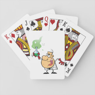 Mad Scientist Playing Cards