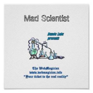 Mad Scientist Print