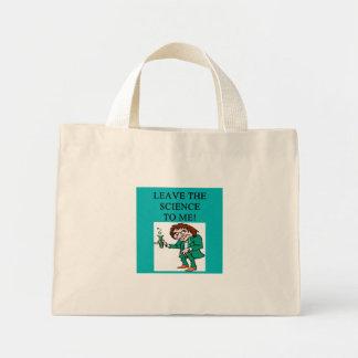 mad scientist mini tote bag