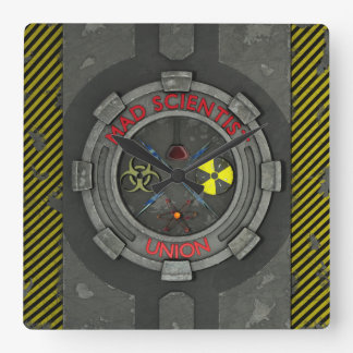 Mad Scientist Union Square Wall Clock