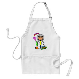 Mad Scientist (with logos) Aprons