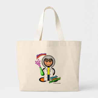 Mad Scientist (with logos) Tote Bag