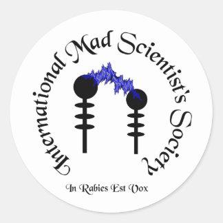 Mad Scientists Society  Sticker