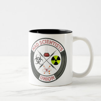 Mad Scientists Union Two-Tone Mug