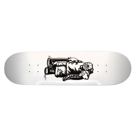 Mad T board Skate Deck