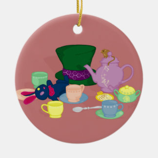 Mad Tea Party Ornament
