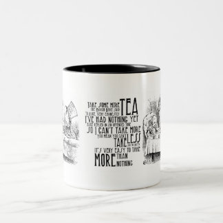 """Mad Tea"" Two-Tone Coffee Mug"