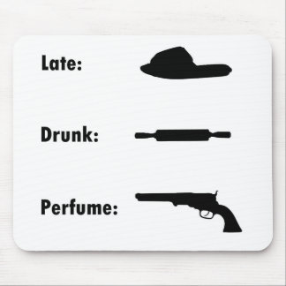 Mad Wife Chart Mouse Pad