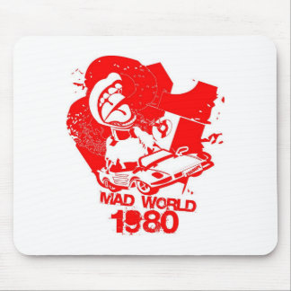 Mad World 1980 s Mouse Pad