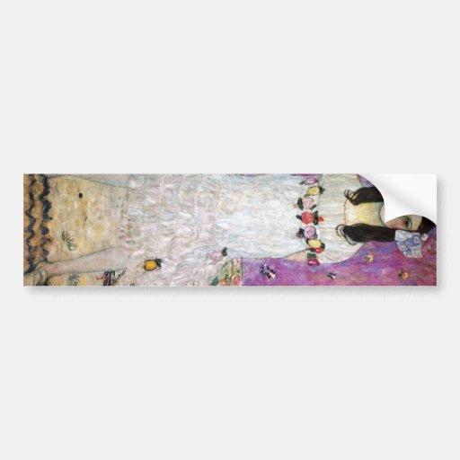 Mada Primavesi by Gustav Klimt Bumper Stickers