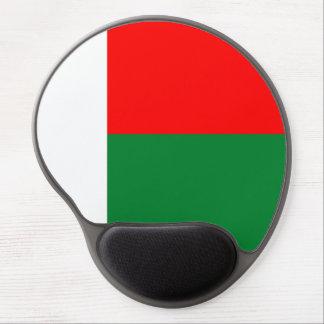 Madagascar country long flag nation symbol republi gel mouse pad