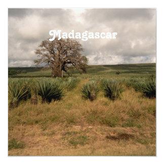 Madagascar Countryside 13 Cm X 13 Cm Square Invitation Card