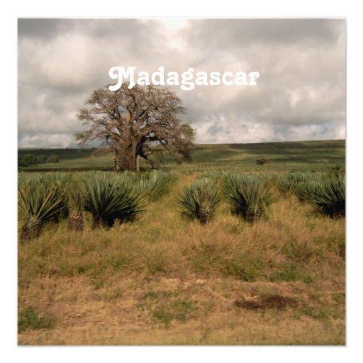 Madagascar Countryside Personalized Invite