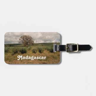 Madagascar Countryside Travel Bag Tags