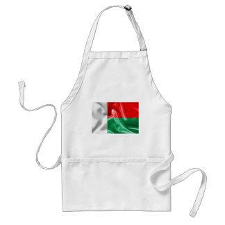 Madagascar Flag Standard Apron