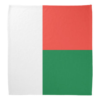 Madagascar Flag Bandana