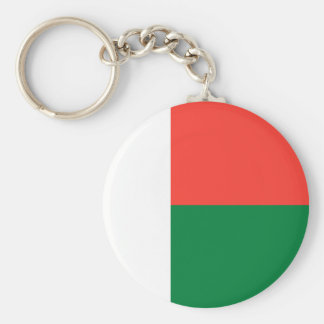 Madagascar Flag Key Ring
