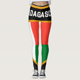 Madagascar Flag Leggings